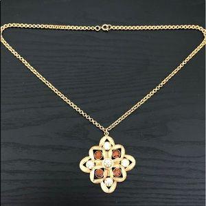 VTG 1960 Sarah Coventry  Medallion Necklace